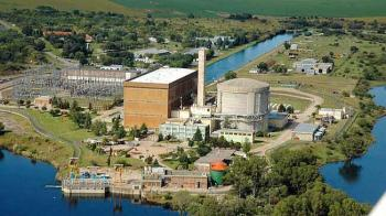 Usina nuclear em Embalse, Argentina